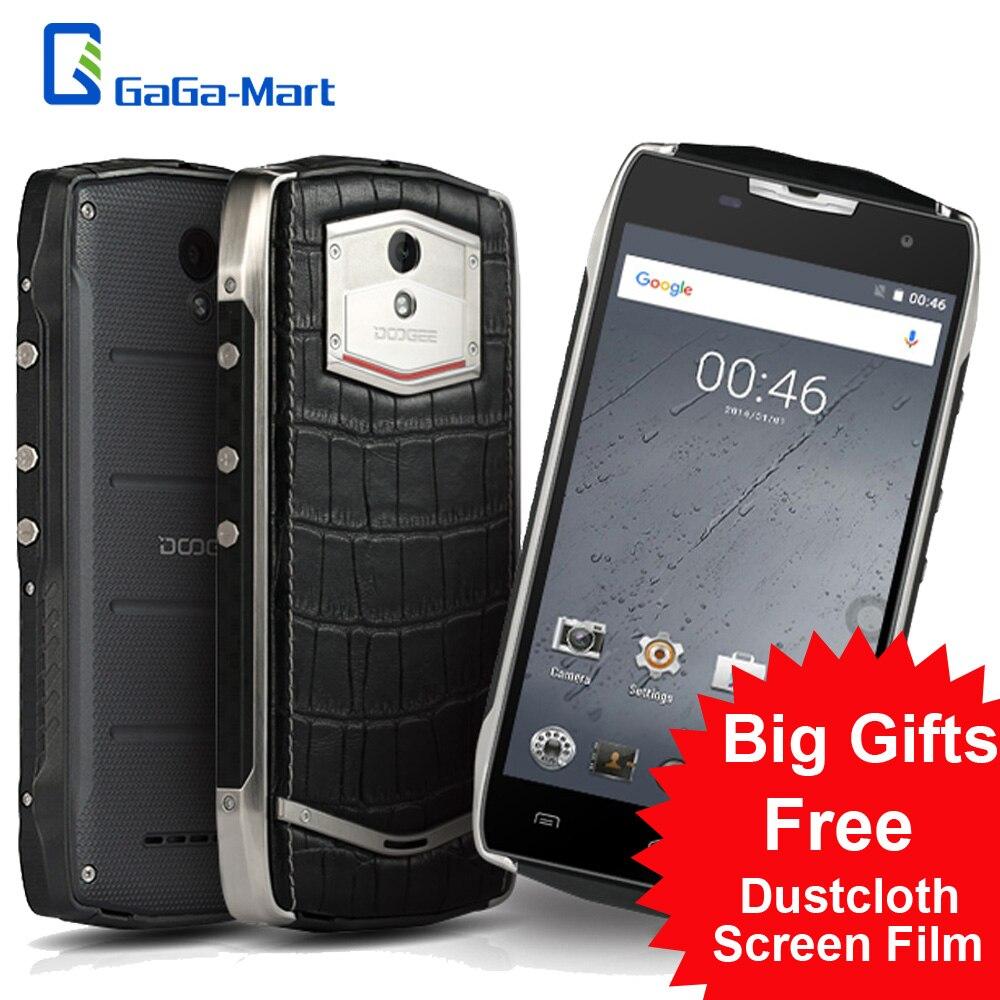 """Цена за DOOGEE T5 Lite IP67 Водонепроницаемый Смартфон 4 Г LTE Android 6.0 Quad Core Телефон MTK6735 5.0 """"HD 1.3 ГГц 2 ГБ + 16 ГБ 8MP Мобильного Телефона"""