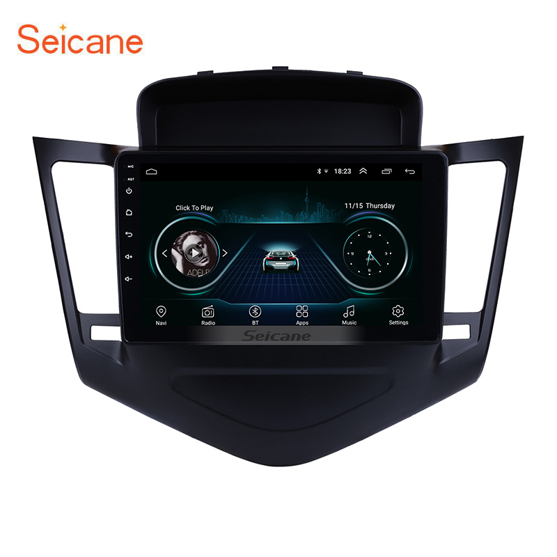 Seicane Multimedia-Player Touchscreen-Head-Unit Car-Radio Chevrolet Cruze 9inch Android