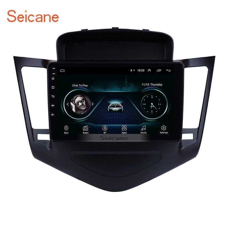 Seicane 9 Polegada Android 8.1 Jogador Multimídia Para 2013 2014 2015 Chevrolet Cruze GPS Navi 2din Touchscreen Rádio Do Carro Cabeça unidade