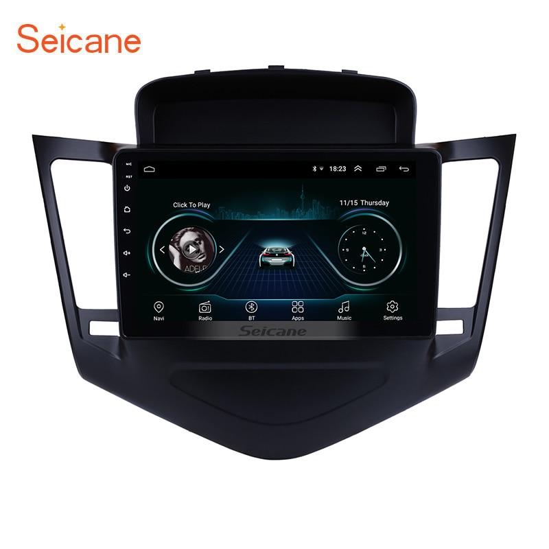 Seicane 9 pouces Android 8.1 lecteur multimédia pour 2013 2014 2015 Chevrolet Cruze GPS Navi 2din autoradio écran tactile tête unité