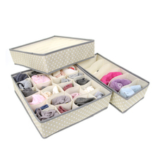 Non-woven underwear bra storage box finishing box underwear box piece set flapless
