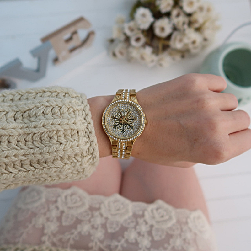 A8342 money stone watches crystals clock (1)