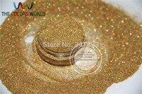 צבע זהב לייזר הולוגרפי גליטר אבקת צללית צבעים גוף רופפת איפור קוסמטי עבור משלוח חינם