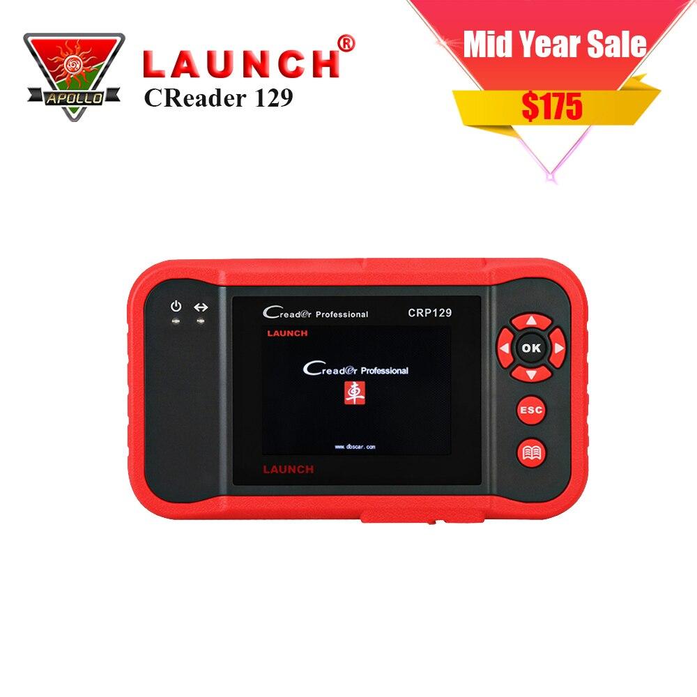 все цены на Original Launch Creader 129 CRP129 OBD2 code reader CRP 129 OBDII scanner PK x431 creader VIII CRP123 Auto Diagnostic Tool