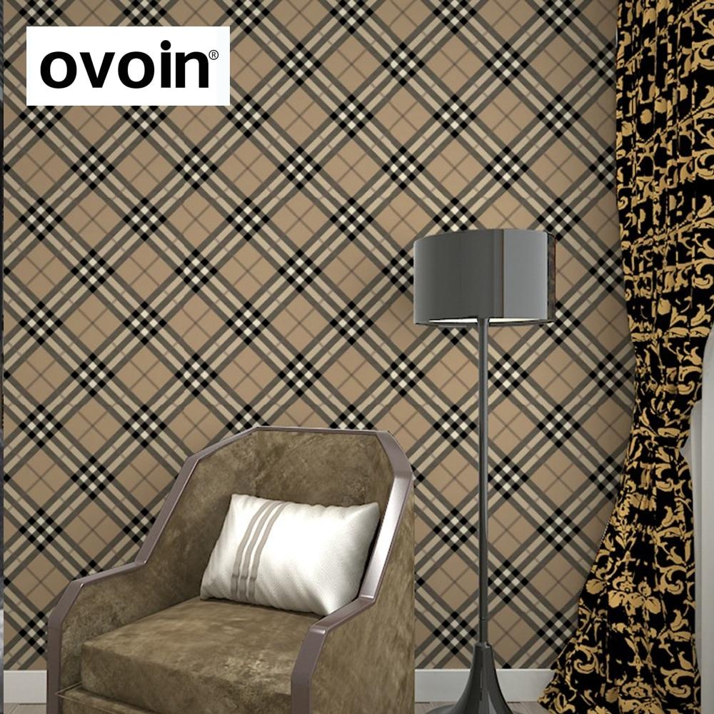 Tartan Check Plaid Scottish Vintage Wallpaper Room Decor