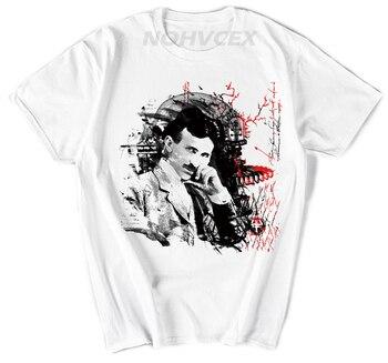 Camiseta de moda Nikola Tesla