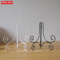 8 Tall Wrought Iron Easel Display Stands For Decorative Plate Pictures Cook Books Bowls Or Platters
