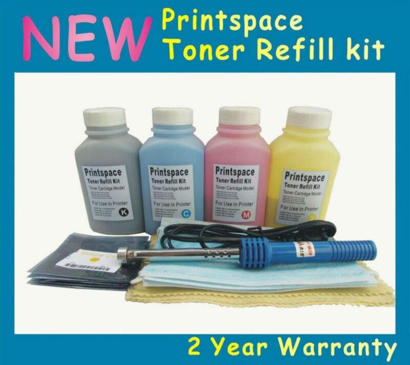 4x NON-OEM Toner Refill Kit + Chips Compatible for HP 131A CF210A Color LaserJet Pro M276 M276n M276nw MFP M251 M251n M251nw toner for hp color laserjet pro 200 276 n cf 210 a m 251 n color printer m 251nw color m251mfp mfp m276 nw black reset printer