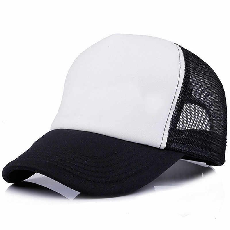 בייבי בני בנות Hat יילוד ילדים בייסבול שווי 2018 קיץ תינוקות פעוט ילדים Snapback כובעים נהג משאית שווי Gorras 1-8 שנים ישן