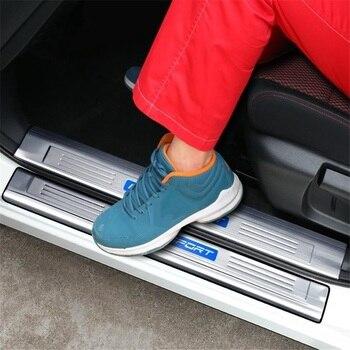 Mobil Automovil Kromium Dekoratif Pedal Kaki Eksterior Kelas Tinggi Aksesori Cerah Payet Bagian 16 17 18 19 untuk Nissan qashqai