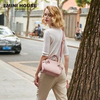 EMINI HOUSE Litchi Grain Wings Hand Bag Woman Purses And Handbags Bags For Women 2018 Split Leather Crossbody Bags For Women Shoulder Bags