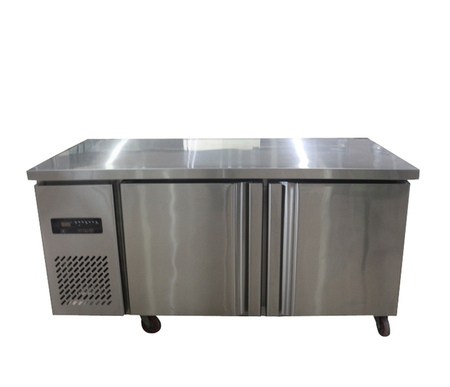 1.8m Commercial Stainless Steel 2 Doors Refrigerator Freezer Fridge work bench  sc 1 st  AliExpress.com & 1.8m Commercial Stainless Steel 2 Doors Refrigerator Freezer ...