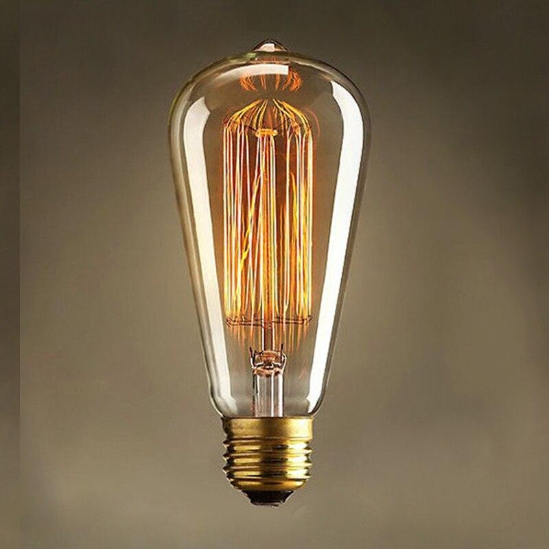 Lâmpadas Incandescentes lightinbox e27 b22 e26 40 Matéria-prima : Latão