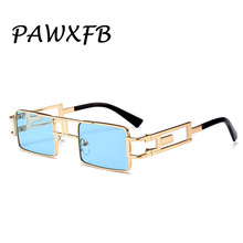 PAWXFB 2019 Hotselling Sunglasses Women Men Square Sun Glasses High quality Oculos de sol 400UV