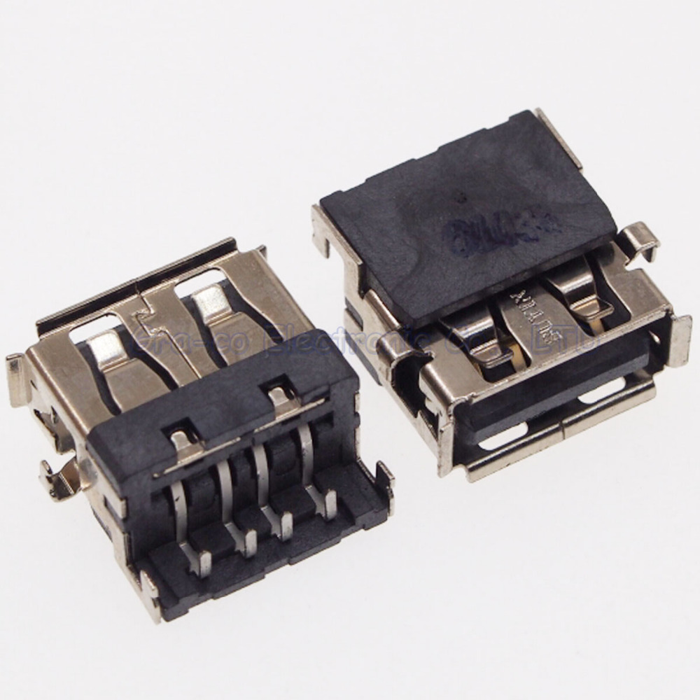10pcs USB Jack female socket for HP DELL 2.0 usb port interface SIZE:14MM*13MM*5.6MM
