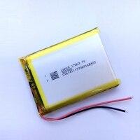 새로운 폴리머 배터리 4000 미리암페르하우어 3.7 볼트 935065 스마트 홈 MP3 스피커 리튬 이온 배터리 dvr, GPS, mp3, mp4, 휴대 전화, 이야기 책 Vedi