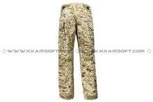 Calças ao ar livre tático militar do exército Emerson G3 calças táticas com joelheiras ( AOR1 ) em7026