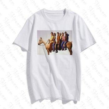 New Cotton Women T Shirt Friends TV Fashion Art Artwork Print Short Sleeve Tops & Tees  Casual Clothes Streetwear