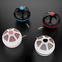лучшая цена Mini Portable Speaker Fashionable External 3W Mobile Phone Speaker Line-in 3.5mm Audio Interface For IPhone IPad IPod