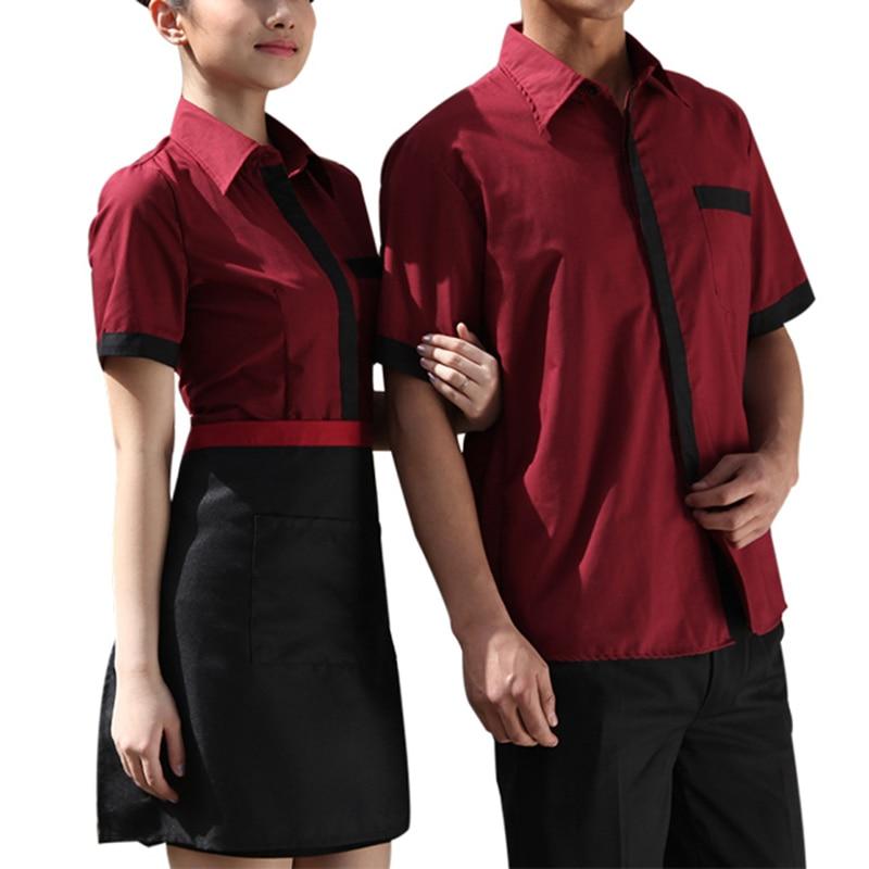Restaurant Kitchen Uniforms aliexpress : buy chef uniform workwear restaurant kitchen