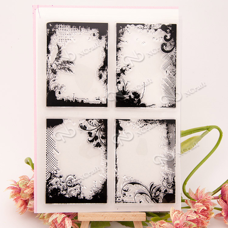 Clear stamp scrapbook DIY album card account rubber stamp finished product chapter transparent seal stamp bookmark square box scrapbook diy photo cards account rubber stamp clear stamp finished transparent chapter wall decoration 15 18