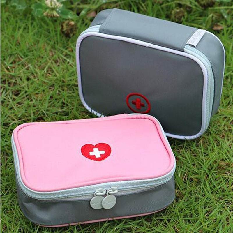 Medicine Band Aid Outdoors Camping Hunt Pill Storage Bag Travel First Aid Bag Survival Kit Earthquake Emergency Kits 1 set outdoor emergency equipment sos kit first aid box supplies field self help box for camping travel survival gear tool kits