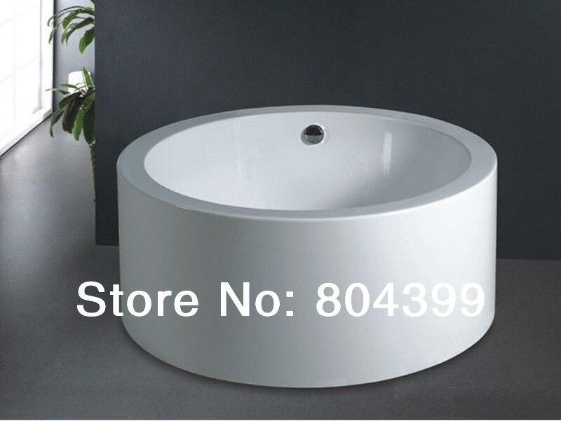 Buy b511 best acrylic round bath tub for Best acrylic bathtub to buy