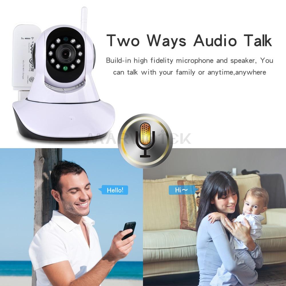 IP kamera wifi 720P pa tel Wi-Fi kamera wifi Mbikëqyrje videove 360 - Siguria dhe mbrojtja - Foto 3