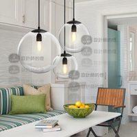 New modern ceiling lamp Crystal ball pendant yc glass ball pendant light GY324