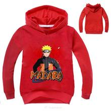 Children Streetwear Sweatshirt Hoodies Naruto T Shirt Kids Long Sleeve Tshirt Tops Tees Shirt Pullovers Clothing(China)
