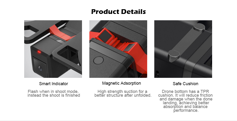 Xiaomi Idol Intelligent Aircraft Ai Recognition Gesture Photo Folding Portable Drone 24