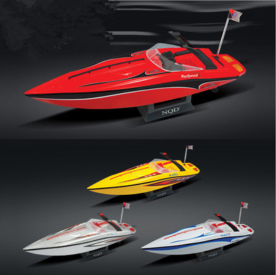 Children toy electric RC boat 757-4023 1:25 scale 40cm 20-30KM/h waterproof High Speed Remote Control speedboat Boat Ship Toys цена и фото
