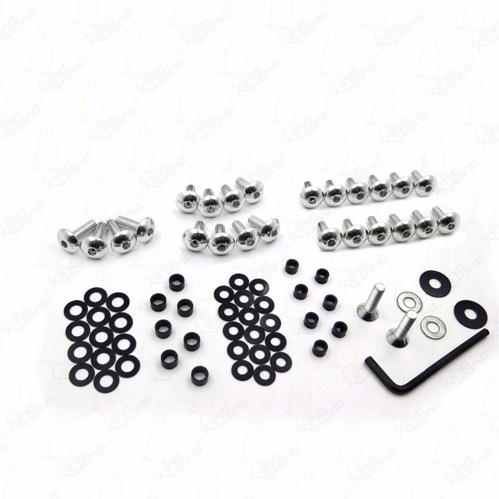 Motorcycle Sportbike Normal Fairing Bolts Kit Complete