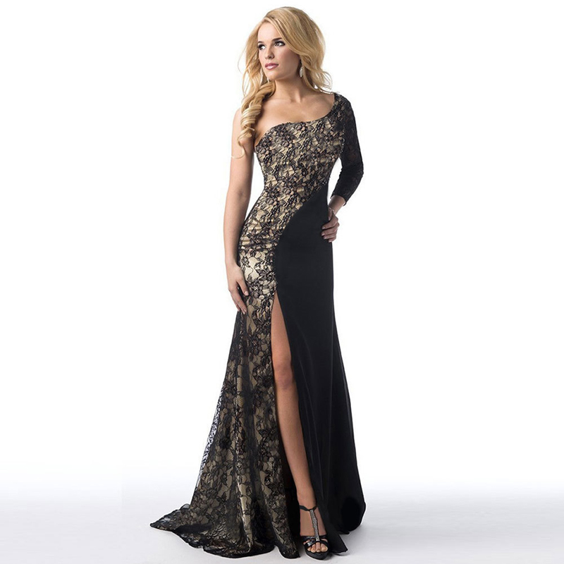 Online Get Cheap Long Lace Black Dress -Aliexpress.com | Alibaba Group