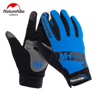 15 Cold Outdoor Five Fingers Antiskid Windproof Wear Resistant Warm Gloves Cycling Touch Screen Soft