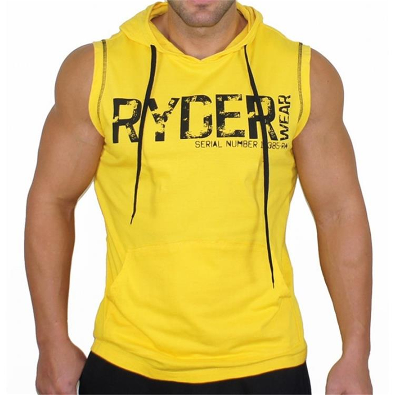 Men   Tank     Tops   Clothing Professional Men Vest Bodybuilding Fitness Cotton Golds Workout Men   Tank     Tops   Undershirt   Tops   Ropa Hombre