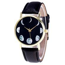 Hot Sale Saat Moon Pattern Clock font b Watches b font font b Women b font