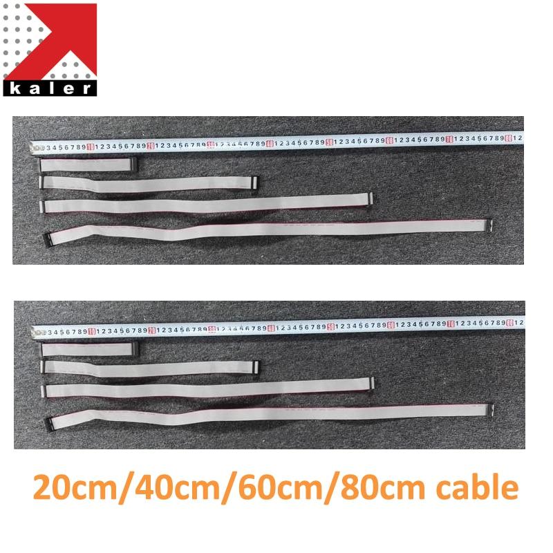 8pcs/lot 20cm 40cm 60cm 80cm 16Pin Ribbon Cable Connect Flat Cable For LED Panel Screen P2 P2.5 P3 P3.91 P4 P4.81 P5 P6 P8 P10