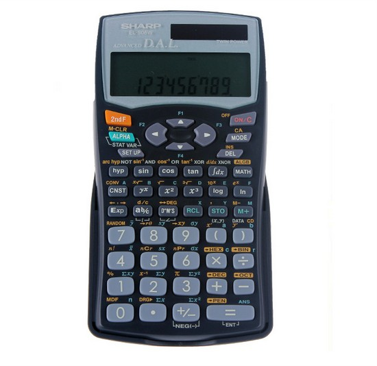 ФОТО EL506W Calculator Science Function Calculator of The Computer Test