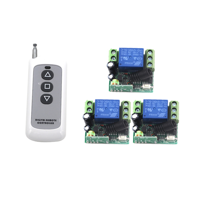 Home Automated Lighting: Home Automation DC 12V 1CH Remote Control Light Switch RF