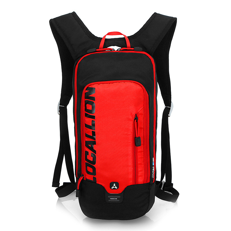 LOCALLION Cycling Backpack Biking Riding Daypack Bike Rucksack Breathable Lightweight for Outdoor Sports Travelling Climbing arsuxeo breathable sports cycling riding shorts riding pants underwear shorts