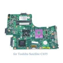V000225080 Motherboard for Toshiba Satellite C655 C650 Main board / System board GL40 DDR2