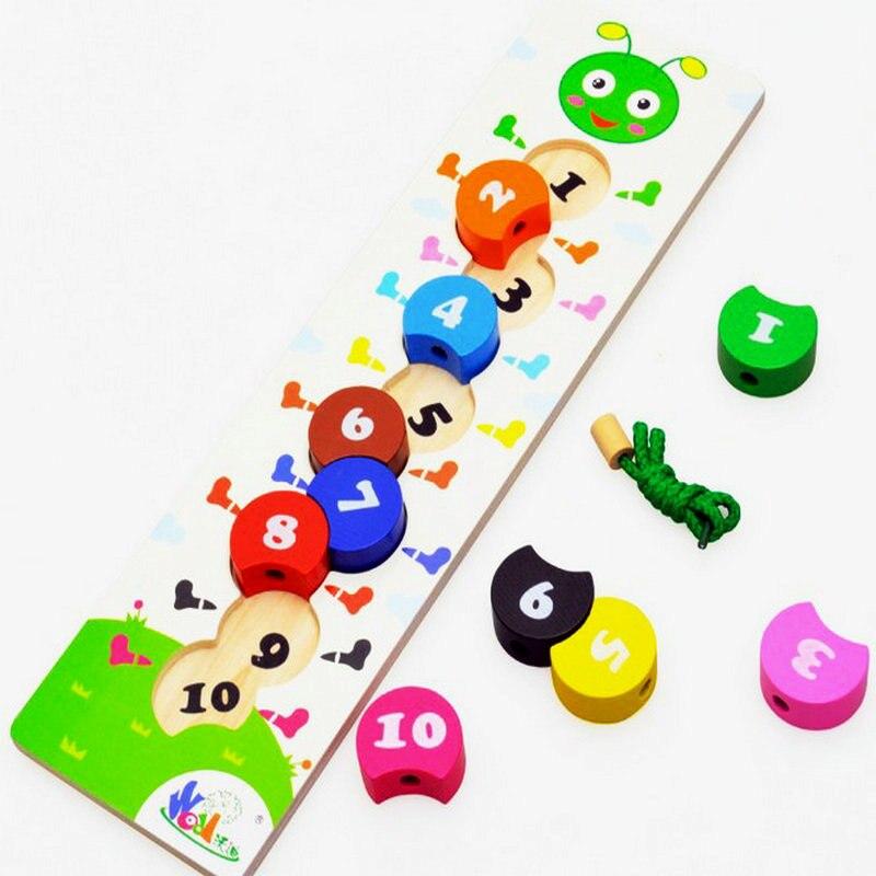 Kids, Wood, Classic, Digital, Toys, Caterpillar