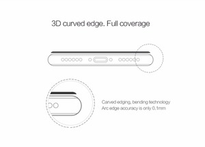 Image 3 - 3D Glass For iphone 8 NILLKIN Amazing 3D CP+ MAX Nanometer Anti Explosion Tempered Glass Screen Protector For iphone 8 7 6 plus