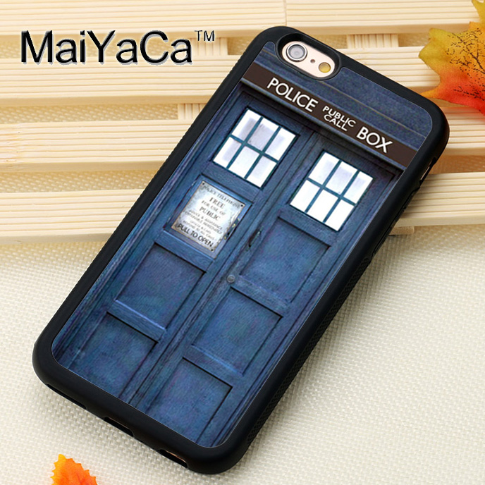 Obedient Maiyaca Tardis Doctor Who For Iphone 6 Iphone 6s Case Soft Rubber Tpu Phone Cases Cover For Apple Iphone 6 6s Coque Special Summer Sale Cellphones & Telecommunications Phone Bags & Cases