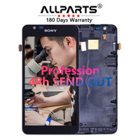 100 Original 4 7 960x540 For SONY Xperia E4G LCD Display Touch Screen With Fram For
