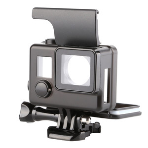 Image 2 - Professional Black Side Open Protective Case Camera Accessories for GoPro Hero 4/3+