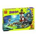 Leweihuan 10431 compatible legoes scooby doo diy embrujada faro 75903 ladrillos de construcción de juguetes para niños juguetes de bloques de construcción