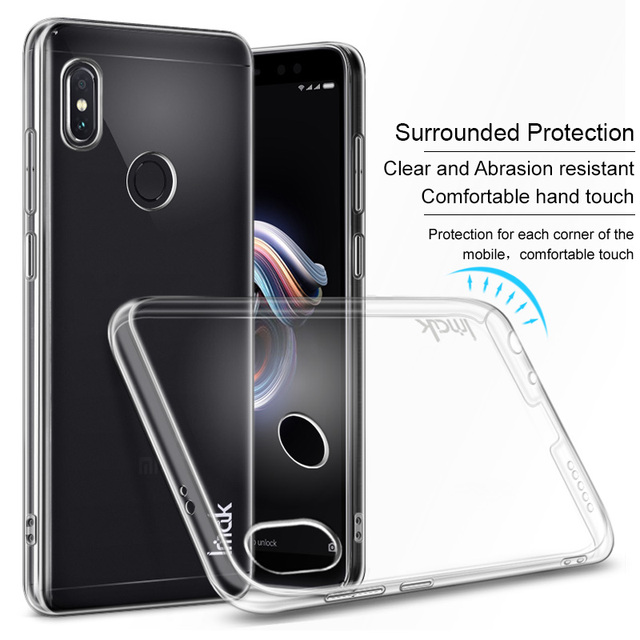 premium selection 909d2 833d7 US $4.99 20% OFF|IMAK Crystal Case Transparent PC Hard Case Cover for  Xiaomi Redmi Note 5 Pro Back Cover Redmi Note5 AI (Dual Camera) Clear  Case-in ...