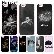 MaiYaCa tv riverdale Jughead Jones Coque Shell Phone Case for Apple iPhone 8 7 6 6S Plus X 5 5S XS XR XSMAX Mobile Cases(China)